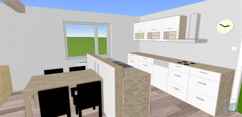 Renovace kuchyňské linky + výroba ostrůvku: 1