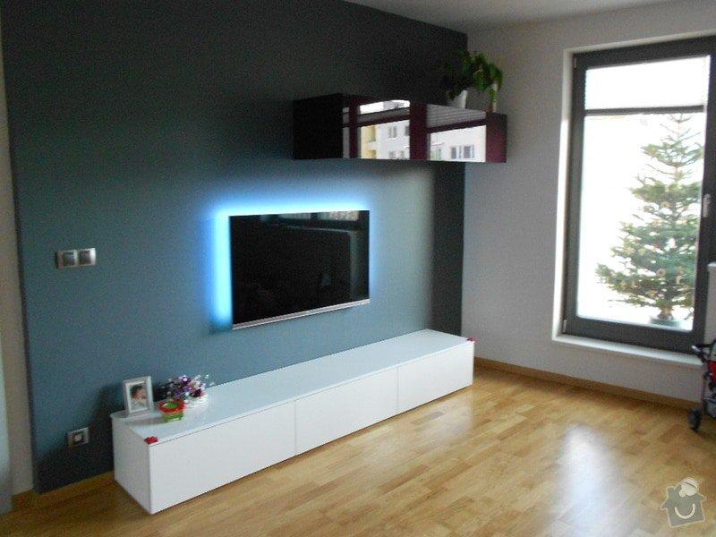 Zařízení nového bytu, vestavná skříň, obývací stěna, koupelnový nábytek: DSCN1019