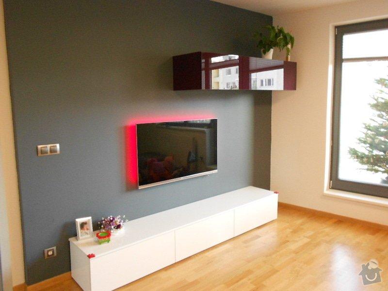 Zařízení nového bytu, vestavná skříň, obývací stěna, koupelnový nábytek: DSCN1020