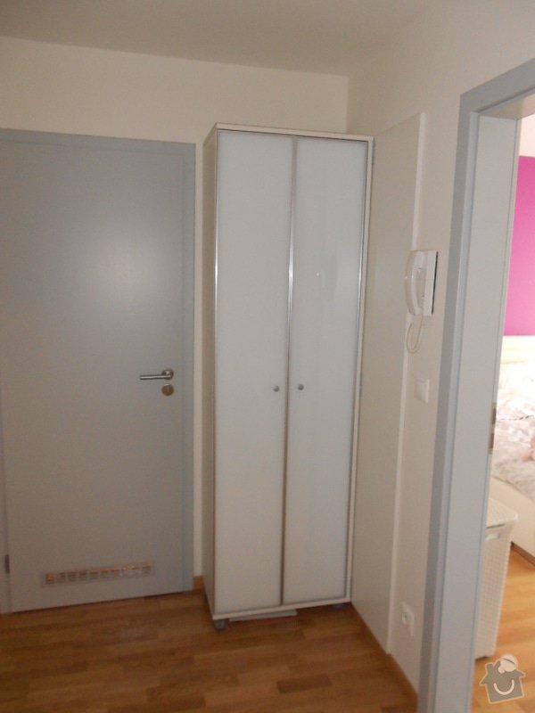 Zařízení nového bytu, vestavná skříň, obývací stěna, koupelnový nábytek: DSCN1022