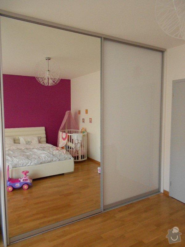 Zařízení nového bytu, vestavná skříň, obývací stěna, koupelnový nábytek: DSCN1027