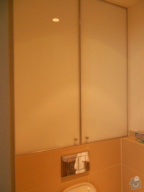 Zařízení nového bytu, vestavná skříň, obývací stěna, koupelnový nábytek: DSCN1029