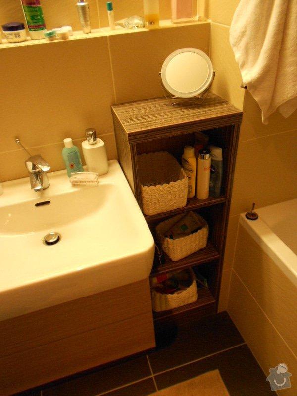 Zařízení nového bytu, vestavná skříň, obývací stěna, koupelnový nábytek: DSCN1030