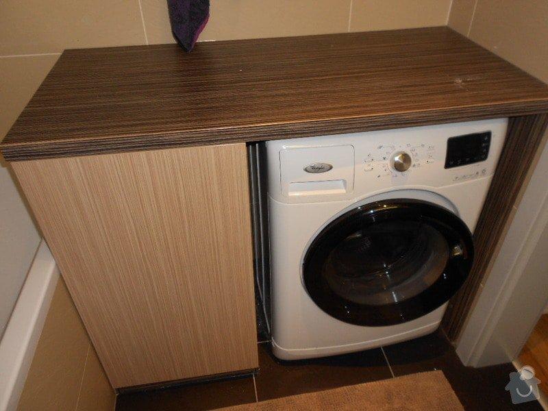 Zařízení nového bytu, vestavná skříň, obývací stěna, koupelnový nábytek: DSCN1032