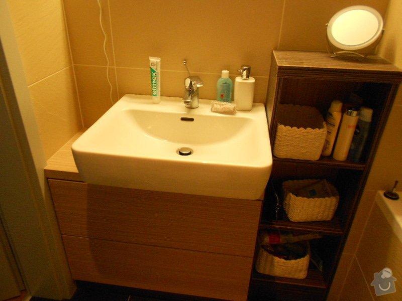Zařízení nového bytu, vestavná skříň, obývací stěna, koupelnový nábytek: DSCN1033