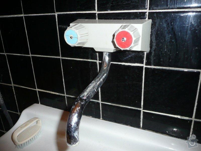 Výměna 3 vodovodních baterií: umyvadlo