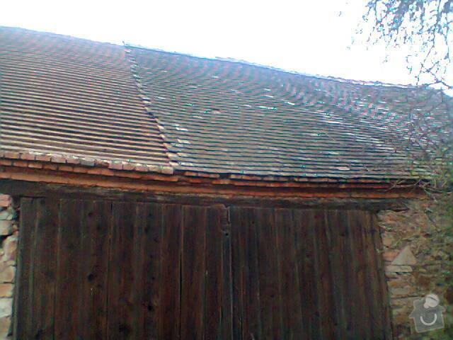 Prohlídka a oprava střechy stodoly: Fotografie1150