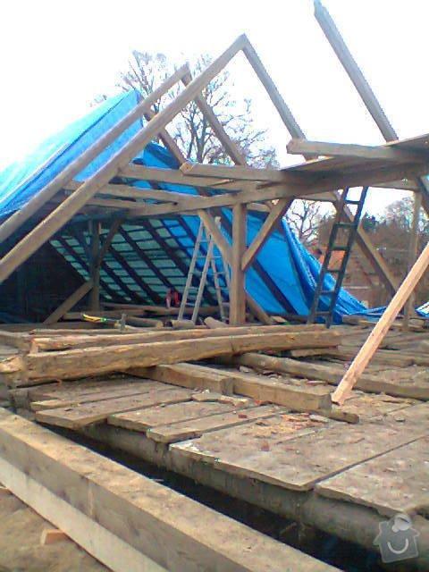 Prohlídka a oprava střechy stodoly: Fotografie1226
