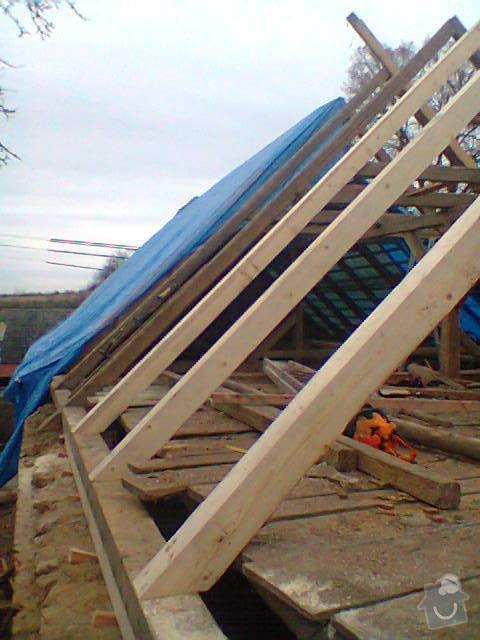 Prohlídka a oprava střechy stodoly: Fotografie1233