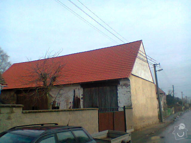 Prohlídka a oprava střechy stodoly: Fotografie1276