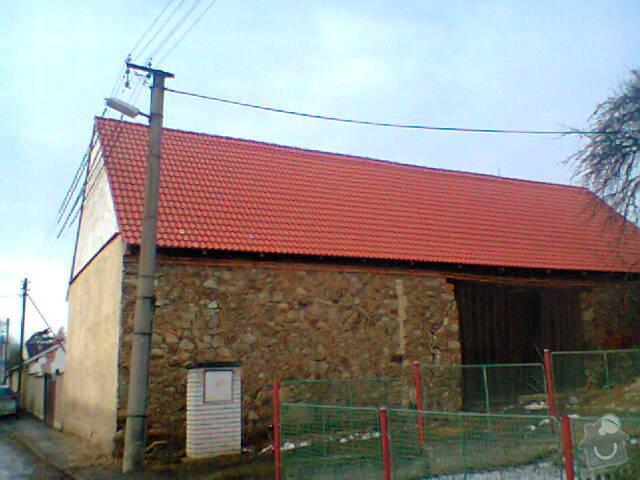 Prohlídka a oprava střechy stodoly: Fotografie1272