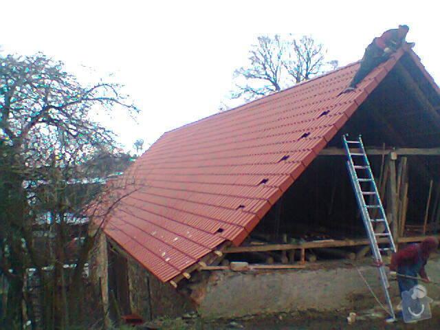 Prohlídka a oprava střechy stodoly: Fotografie1270