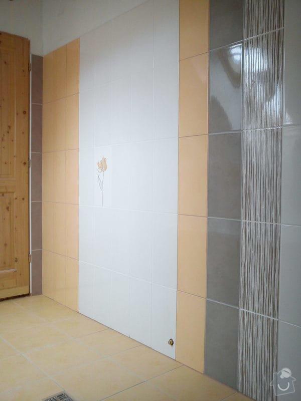 Obklad koupelny podkroví: DSC00706