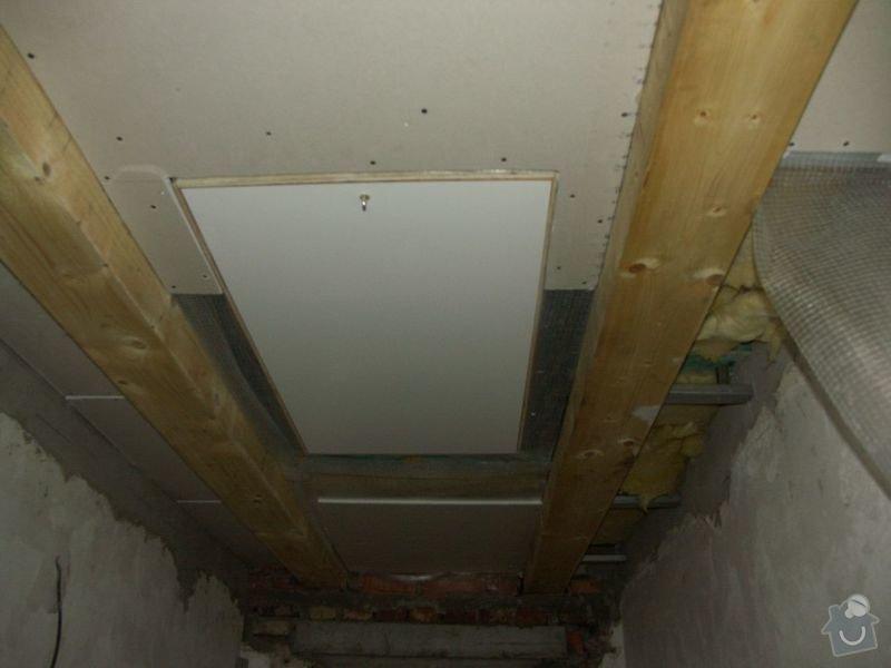 Rekonstrukce dřevěných stropů a podlahy půdy, přístupu na půdu a termoizolace: 2-7prubeh_novy_vstup_na_pudu