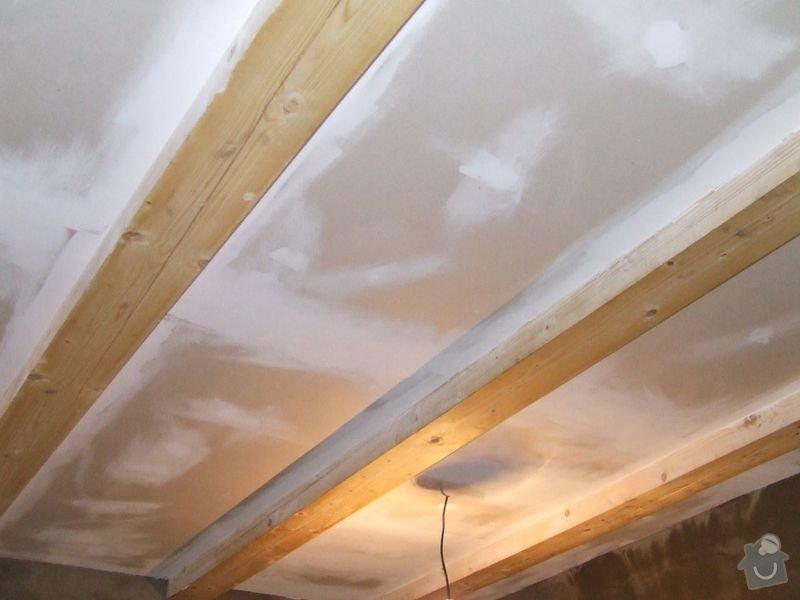 Rekonstrukce dřevěných stropů a podlahy půdy, přístupu na půdu a termoizolace: 3dokoncovani_strop