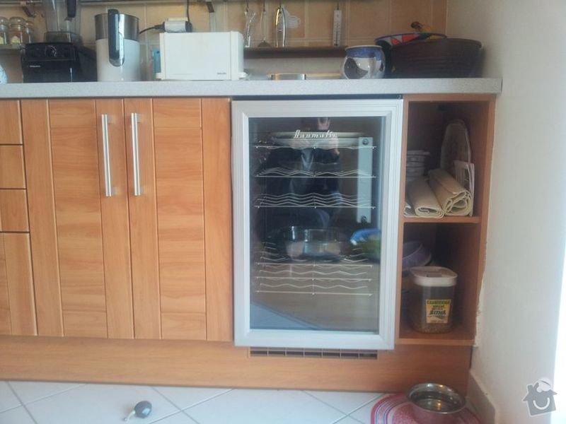 Zhotovení skříňky k existující kuch. lince: 20140212_082744