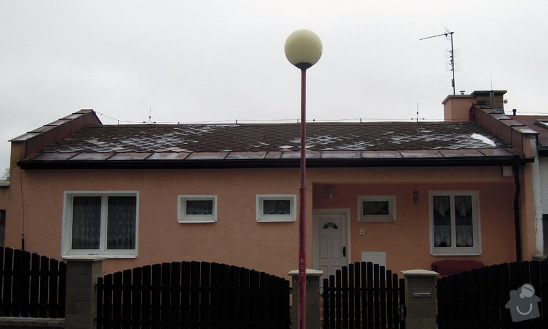 Rekonstrukce střechy RD: Strecha_predek