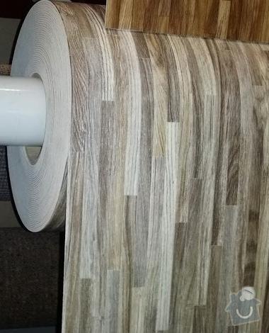 Položení PVC podlahové krytiny: PVC