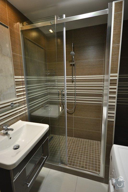 Koupelna, Wc a kuchyň v panelovém bytě: D