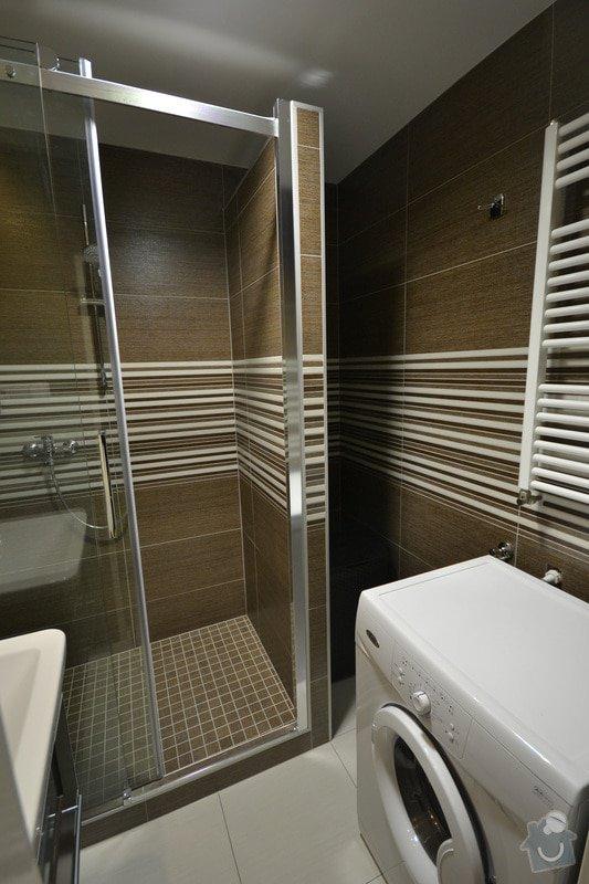 Koupelna, Wc a kuchyň v panelovém bytě: D_1_