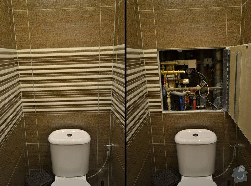 Koupelna, Wc a kuchyň v panelovém bytě: D_7_