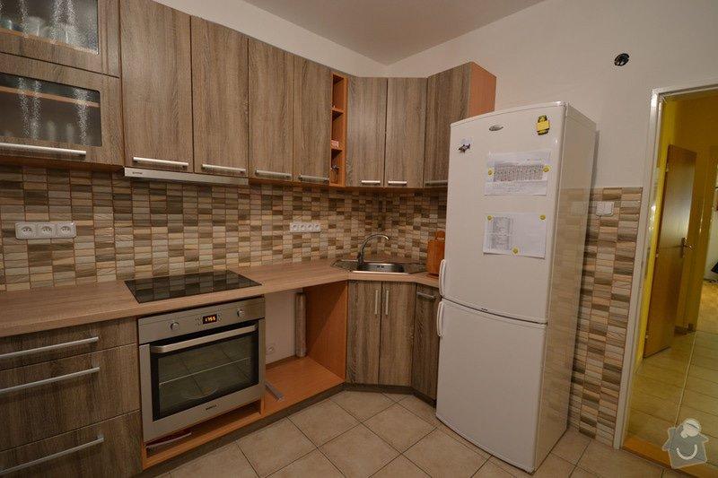 Koupelna, Wc a kuchyň v panelovém bytě: D_8_