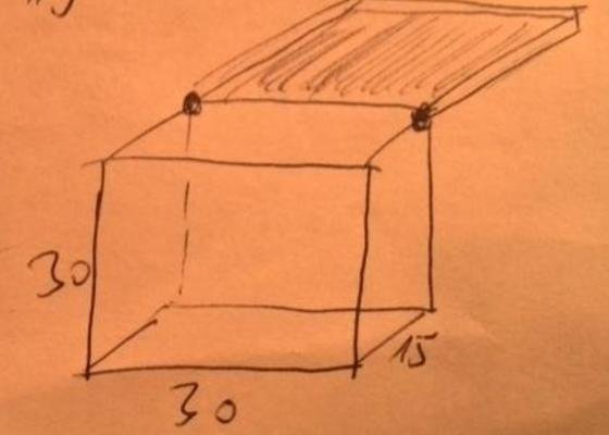 Výroba dřevěné krabice