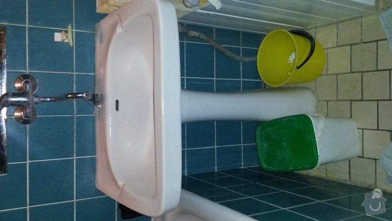 Instalatérské, obkladačské a truhlářské práce (WC,kuchyně, koupelna) : koupelna_umyvadlo