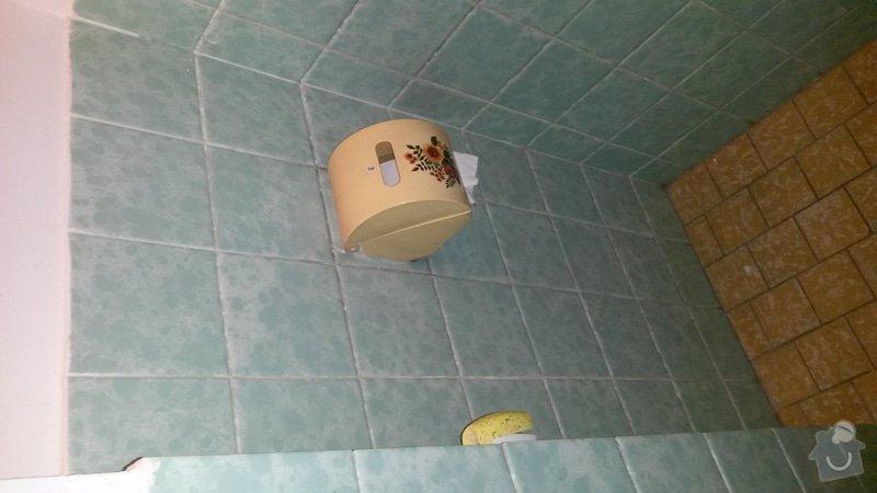 Instalatérské, obkladačské a truhlářské práce (WC,kuchyně, koupelna) : WC