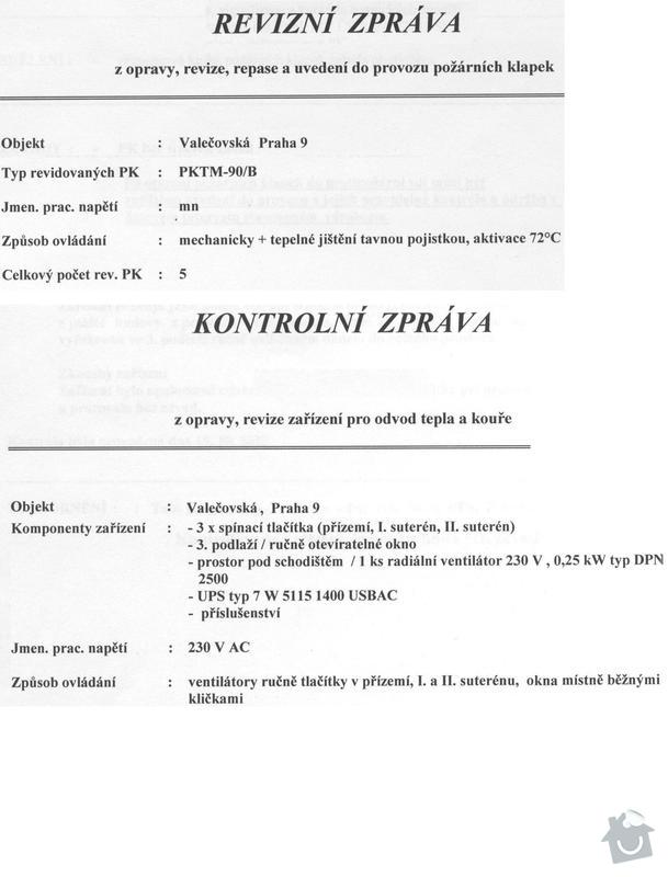 Revize protipožárního odvětrání a klapek: otk_001