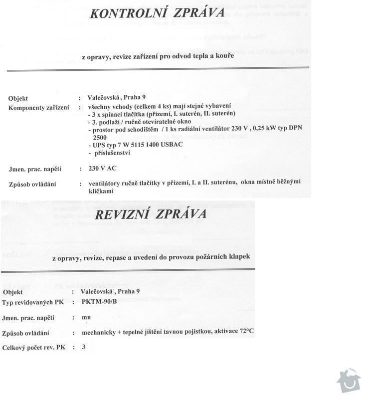 Revize protipožárního odvětrání a klapek: otk_004