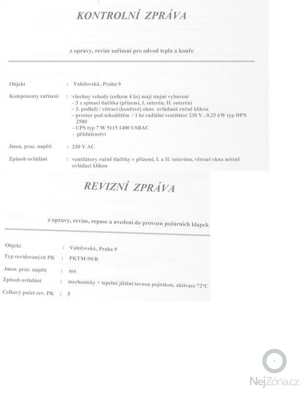 Revize protipožárního odvětrání a klapek: otk_005
