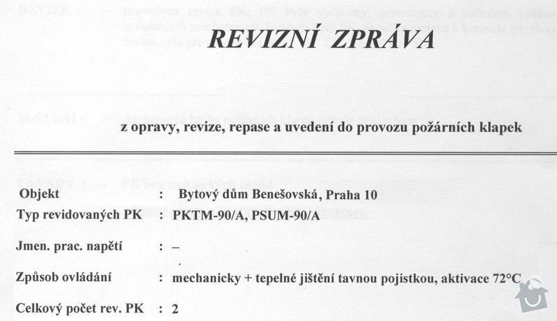 Revize protipožárního odvětrání a klapek: otk_009