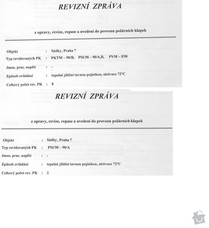 Revize protipožárního odvětrání a klapek: otk_011
