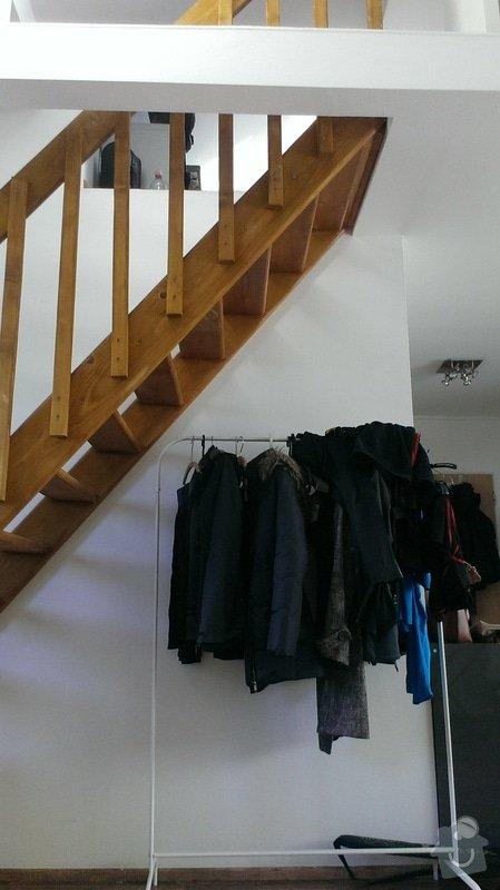 Vestavěná skříň pod schody: Stavajici_stav_1