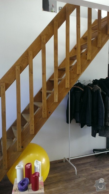 Vestavěná skříň pod schody: Stavajici_stav_2