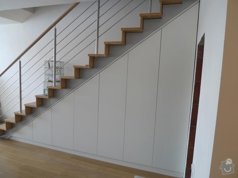 Vestavěná skříň pod schody: Navrh_1