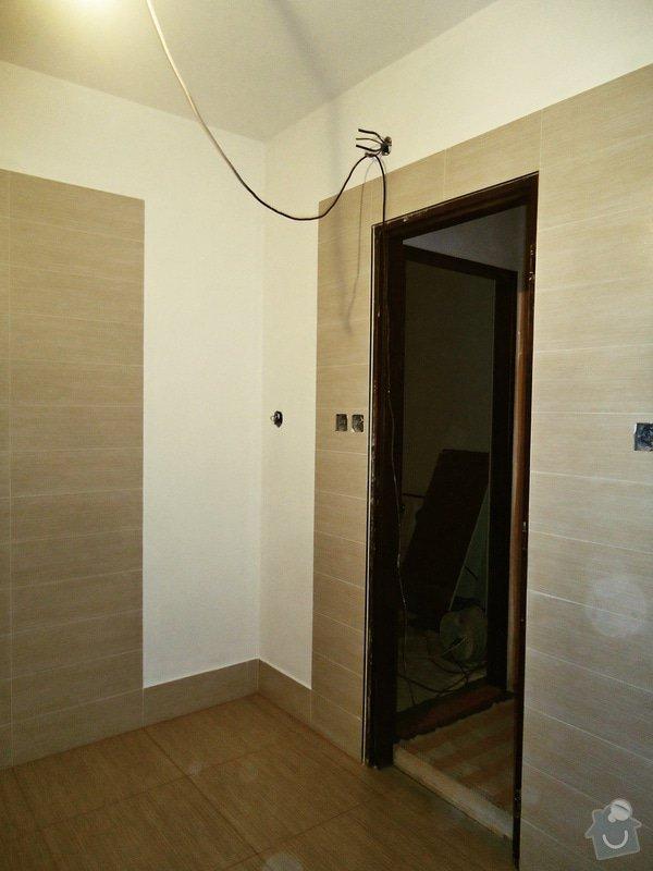 Rekonstrukce koupelny: 007