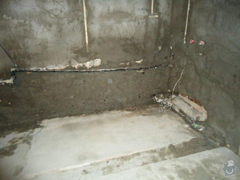 Rekonstrukce koupelny: 019