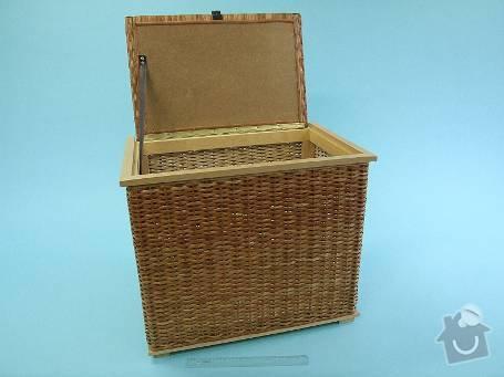 Výroba polotovaru lavičky na prádlo: 137v