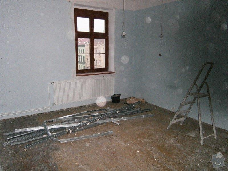 Přestavbu cihlového bytu 2+1 na 3+kk: 1