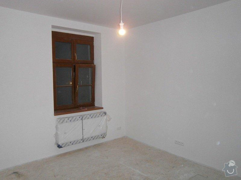 Přestavbu cihlového bytu 2+1 na 3+kk: 2