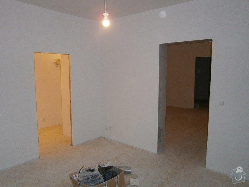 Přestavbu cihlového bytu 2+1 na 3+kk: 4