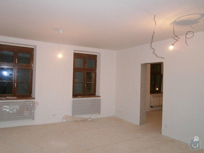 Přestavbu cihlového bytu 2+1 na 3+kk: 6