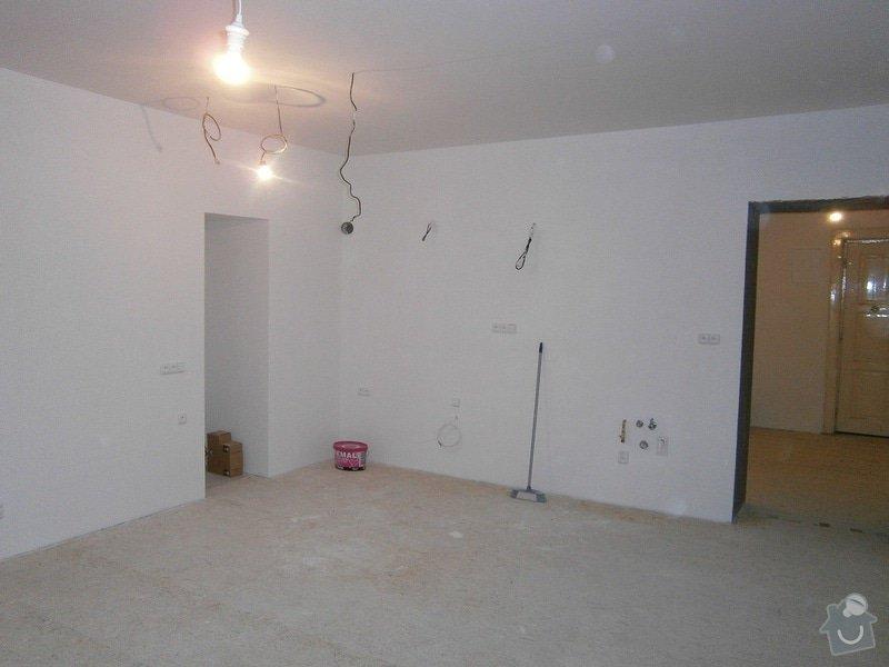 Přestavbu cihlového bytu 2+1 na 3+kk: 8