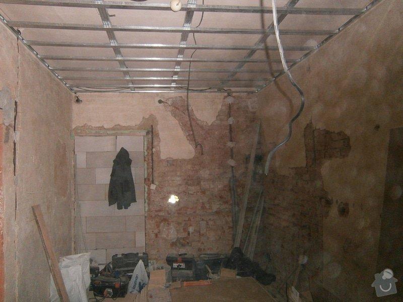 Přestavbu cihlového bytu 2+1 na 3+kk: 9