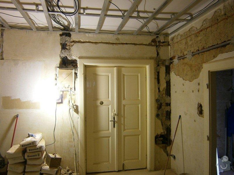 Přestavbu cihlového bytu 2+1 na 3+kk: 11