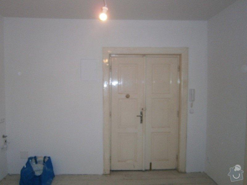 Přestavbu cihlového bytu 2+1 na 3+kk: 12
