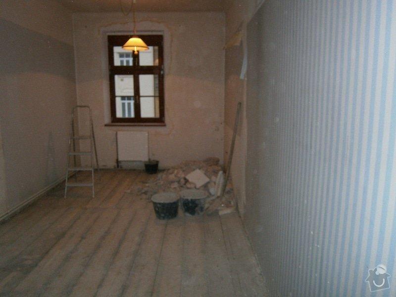 Přestavbu cihlového bytu 2+1 na 3+kk: 15