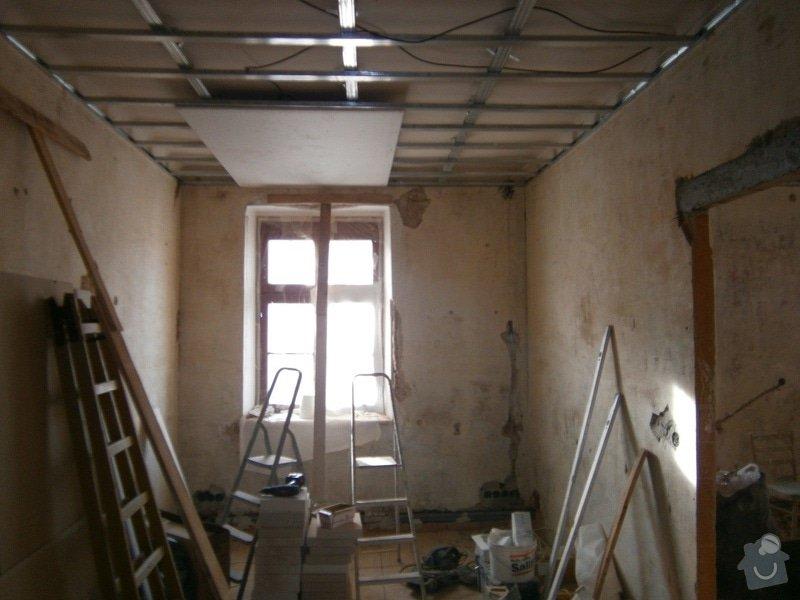 Přestavbu cihlového bytu 2+1 na 3+kk: 16
